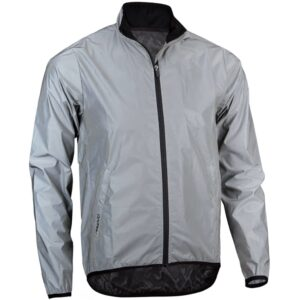 Avento Reflective Running Jacket Men L 74RC-ZIL-L