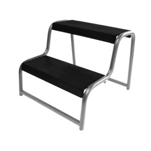 ProPlus Double Step Stool for Caravan/Motorhome Black 360822