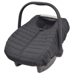 vidaXL Baby Carrier/Car Seat Cover 57×43 cm Black