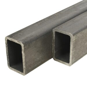 vidaXL 2x Structural Steel Tubes Rectangular Box Section 2m 60x40x3mm
