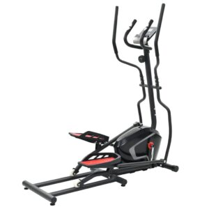 vidaXL Magnetic Elliptical Trainer with Pulse Measurement XL