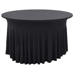 vidaXL 2 pcs Stretch Table Covers with Skirt 120×74 cm Anthracite
