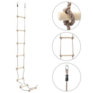 vidaXL Kids Rope Ladder 290 cm Wood