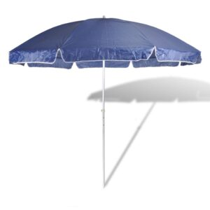 300cm Beach Umbrella Colour Blue