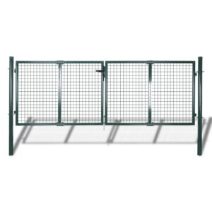 Garden Mesh Gate Fence Door Wall Grille 289 x 75 cm
