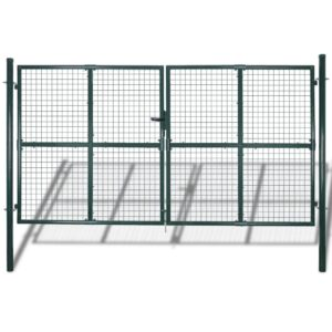 Garden Mesh Gate Fence Door Wall Grille 289 x 175 cm