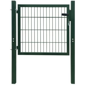 2D Fence Gate (Single) Green 106 x 130 cm