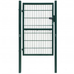 2D Fence Gate (Single) Green 106 x 190 cm