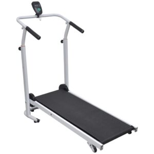 vidaXL Mini Treadmill Folding 93 x 36 cm Black