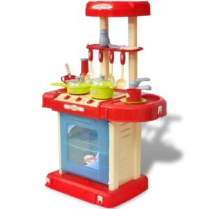 Kids/Children Playroom Toy Kitchen with Light/Sound Effects