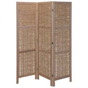 Home&Styling Room Screen Wood and Willow Light Brown