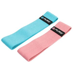 Pure2Improve Exercise Band Set Blue and Pink