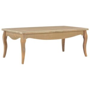 vidaXL Coffee Table 110x60x40 cm Solid Pine Wood