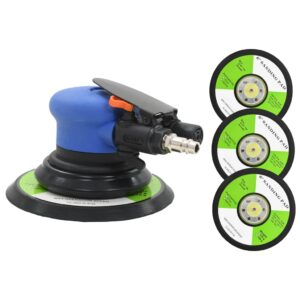 vidaXL Air Orbital Sander with Sanding Pads 150 mm