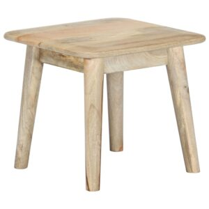 vidaXL Coffee Table 45x45x40 cm Solid Mango Wood