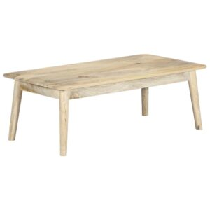 vidaXL Coffee Table 115x60x40 cm Solid Mango Wood