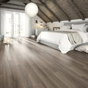 Egger Laminate Flooring Planks 24.8 m² 7 mm Grey Ampara Oak