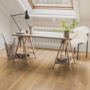 Egger Laminate Flooring Planks 21.89 m² 8 mm Oak Trilogy Natural