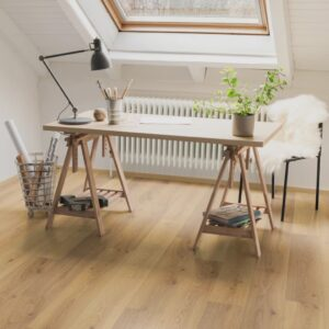 Egger Laminate Flooring Planks 25.87 m² 8 mm Oak Trilogy Natural