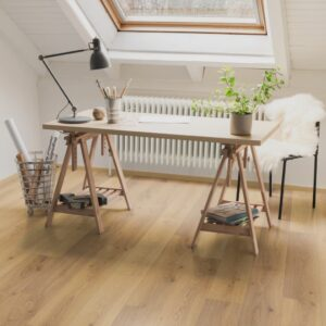 Egger Laminate Flooring Planks 45.77 m² 8 mm Oak Trilogy Natural