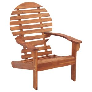 vidaXL Adirondack Chair Solid Acacia Wood