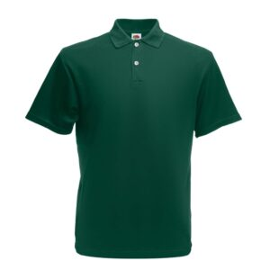 Fruit of the Loom 5 pcs Original Men's Polo Shirts Forest Green XL
