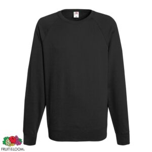 Fruit of the Loom 5 pcs Men's Crew neck Sweatshirts Light Graphite S