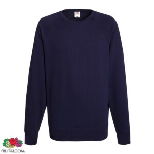 Fruit of the Loom 5 pcs Men's Crew neck Sweatshirts Deep Navy S