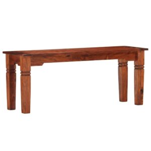vidaXL Bench 110 cm Solid Acacia Wood