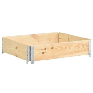 vidaXL Raised Bed 100×100 cm Solid Pine Wood (310056 )