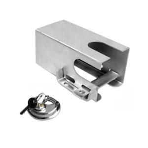 ProPlus Coupling Hitch Lock with Lock 110 x 110 mm 341325S