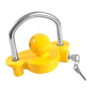 ProPlus Coupling Hitch Lock with Lock Cylinder 341329