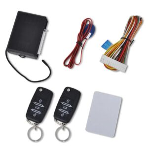 Car Central Door Locking Set with 2 Remote Keys VW Skoda Audi