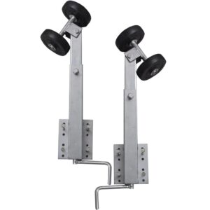 Boat Trailer Double Roller Bow Support Set of 2 59 – 84 cm