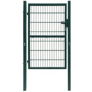 2D Fence Gate (Single) Green 106 x 210 cm