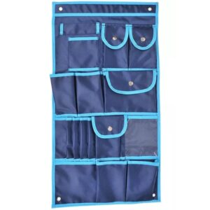ProPlus Hanging Vehicle Organiser with 17 Compartments Blue